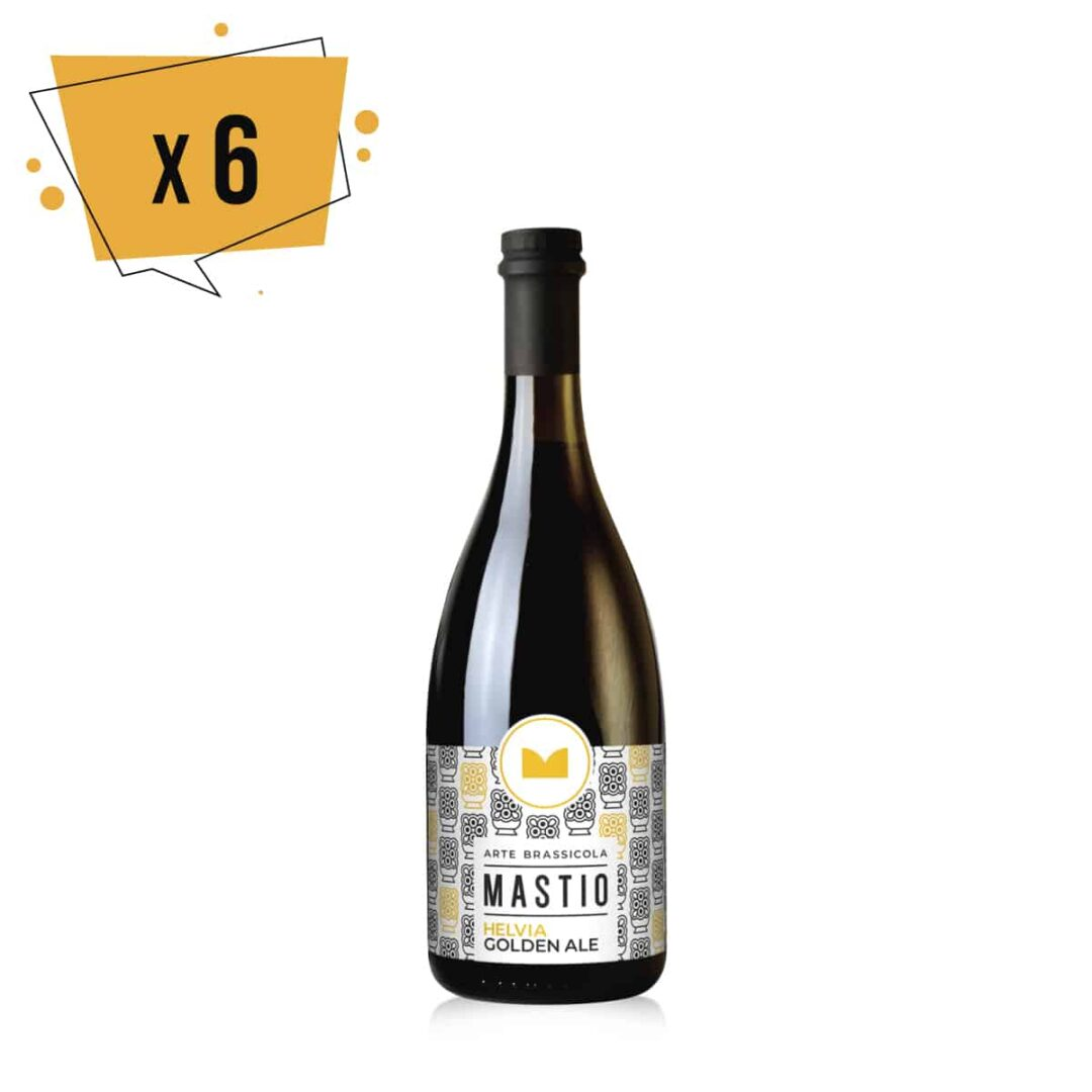 bottiglia birra helvia da 75cl