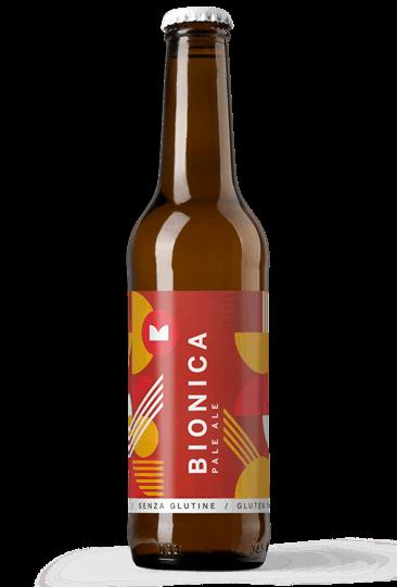 bottiglia di birra bionica