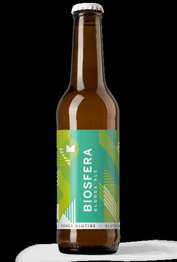 bottiglia di birra biosfera
