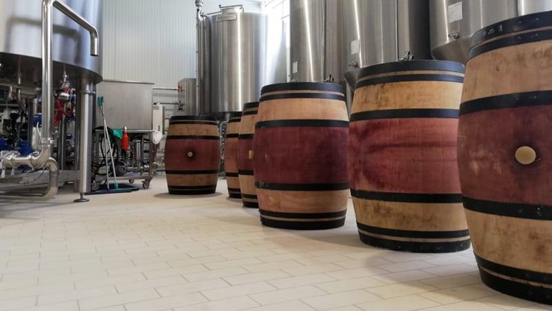 impianto del birrificio mastio