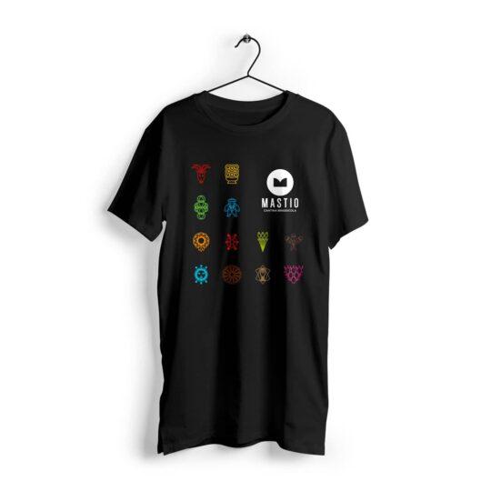 t-shirt mastio nera
